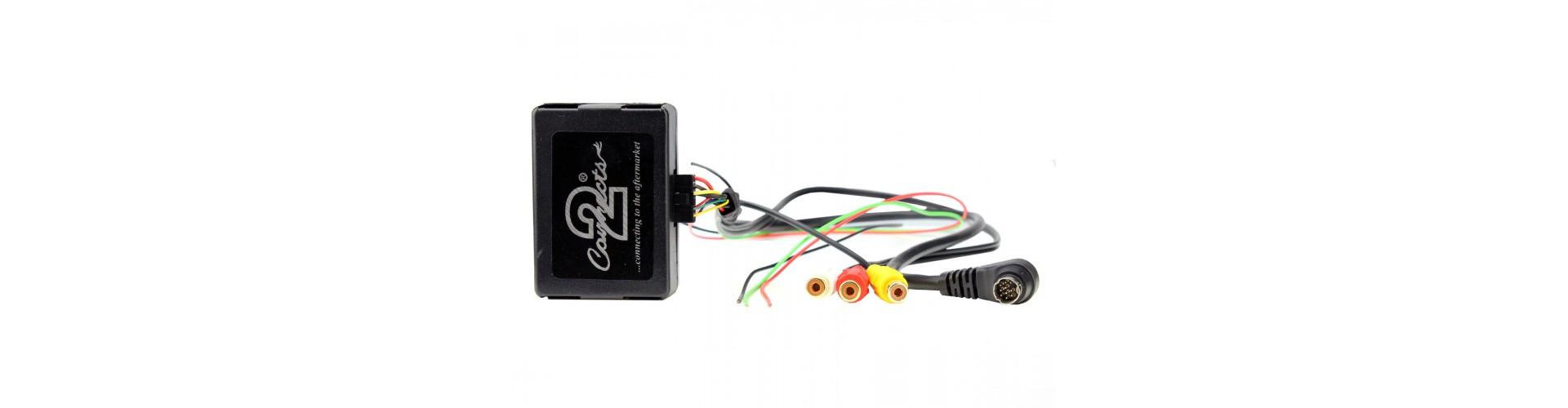 Factory Vehicle Radio Camera Add-On Interface