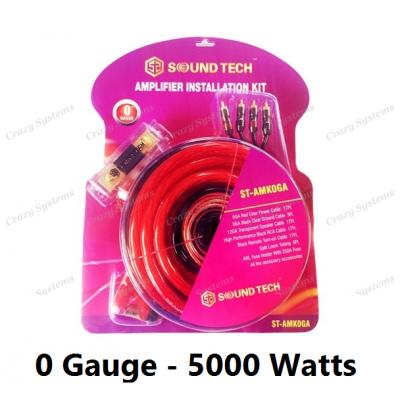 5000W TRUE 0 Gauge AMP WIRING KIT