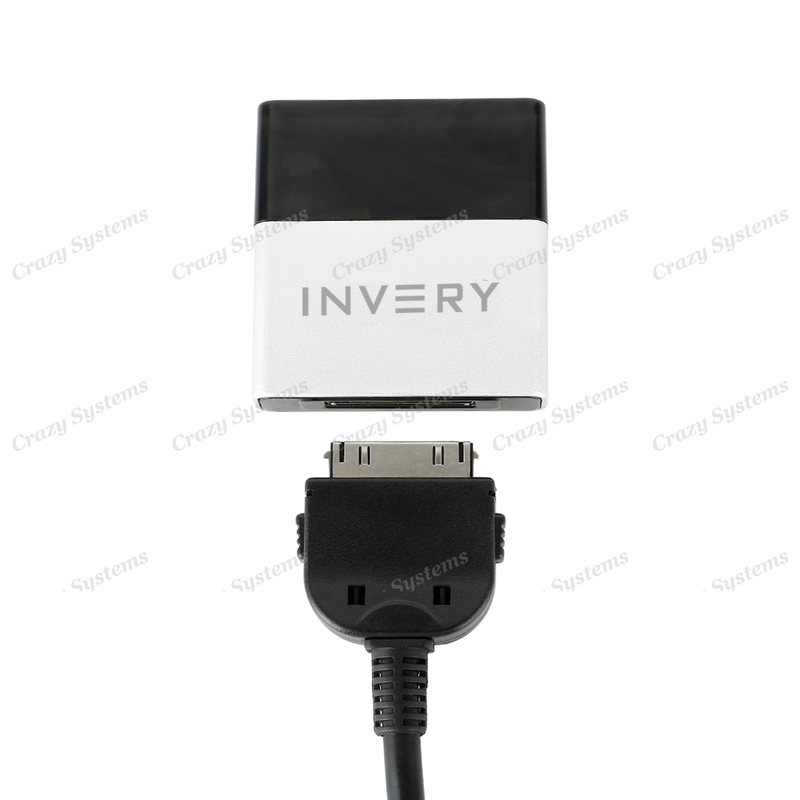 Invery Airdual AD100 Bluetooth Audio Streaming for Euros, Hyundai, Nissan, more