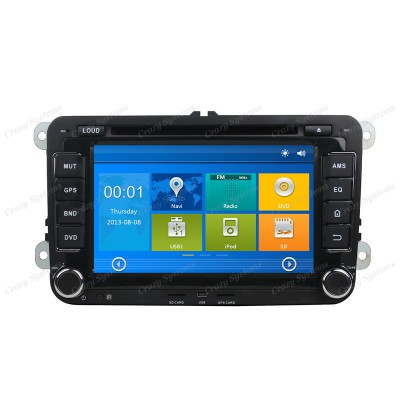 "VW Universal 7"" Win6.0 OEM Radio **HD Capacitive Screen|GPS|BT|DVD**"