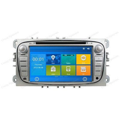 Ford Mondeo Win6.0 OEM Radio (2007-2010) **HD Capacitive Screen|GPS|BT|DVD**