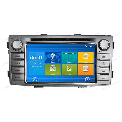 Toyota Hilux Win6.0 OEM Radio (2012+) **HD Capacitive Screen|GPS|BT|DVD**
