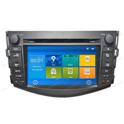 Toyota Rav4 Win6.0 OEM Radio (2016-2012) **HD Capacitive Screen|GPS|BT|DVD**