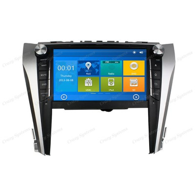 Toyota Camry Win6.0 OEM Radio (Latest 2015+) **HD Capacitive Screen|GPS|BT|DVD**