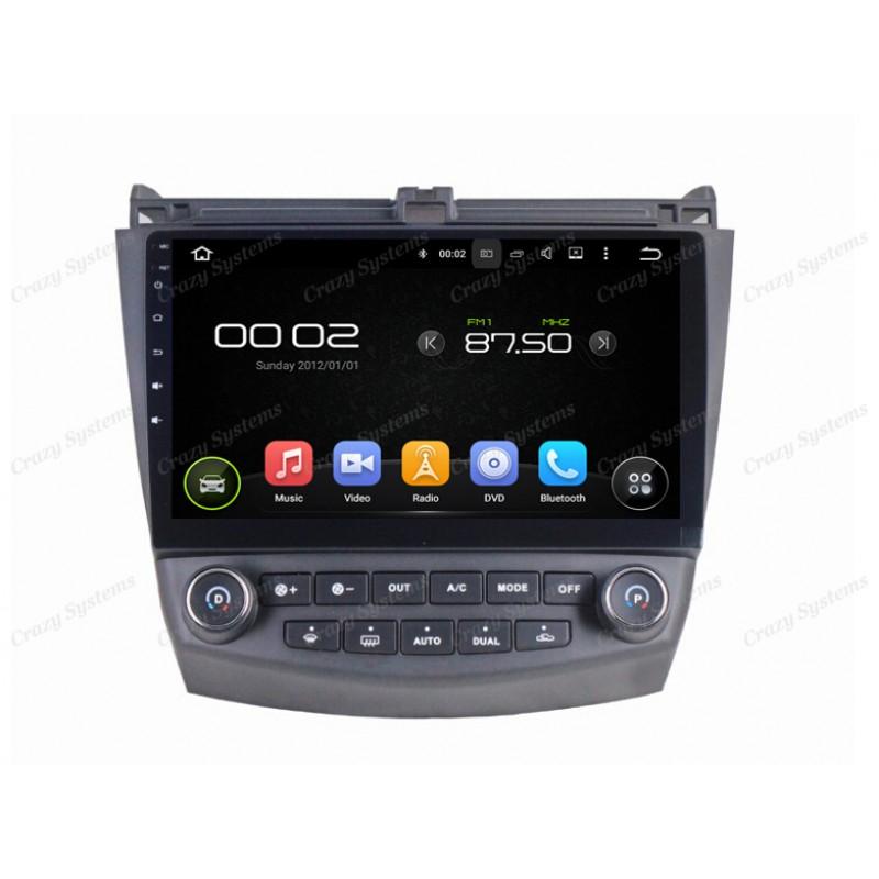 Honda Accord Android 5 1 Oem Radio 2003 2007 Mirrorlink Wifi Gps Aircon