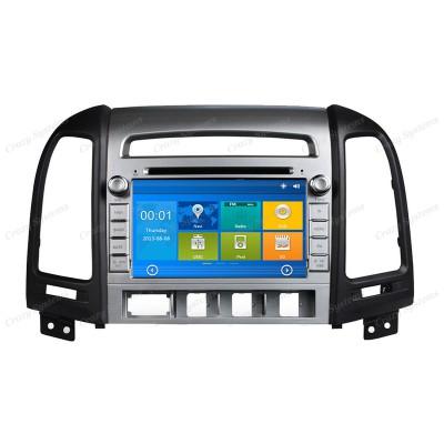Hyundai Santa Fe Win6.0 OEM Radio (2006-2012) **HD Capacitive Screen|GPS|BT|DVD*