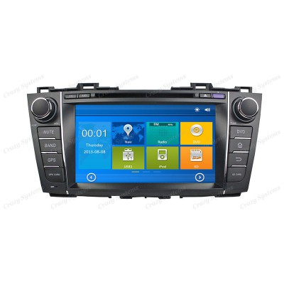 Mazda 5 / Premacy Win6.0 OEM Radio (2010-2013) *HD Capacitive Screen|GPS|BT|DVD*
