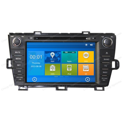 Toyota Prius Win6.0 OEM Radio (2009-2013) **HD Capacitive Screen|GPS|BT|DVD**