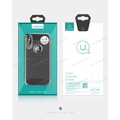 USAMS US-IPXLW Apple iPhone X Lavan series phone case