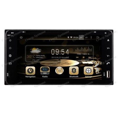 DrivePro DPRT061A71 Toyota Android 7.1 Capacitive Touchscreen, DVD, Navigation