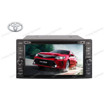 DrivePro DPRT073W Toyota Capacitive Touchscreen, DVD, Nav Ready, MirrorLink