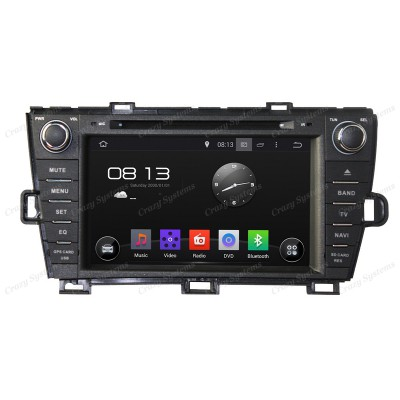 "Toyota Prius 8"" Screen, Android 7.1 OEM Radio (2009-2013) - GPS,Bluetooth, WIFI"