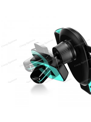 USAMS US-ZJ026 Universal Gravity Air Vent Car Mount Smartphone Holder for iPhone