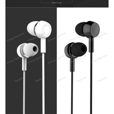 USAMS EP-12 In-ear Waterproof Wired Control Electroplated Earphone Headphone Wit