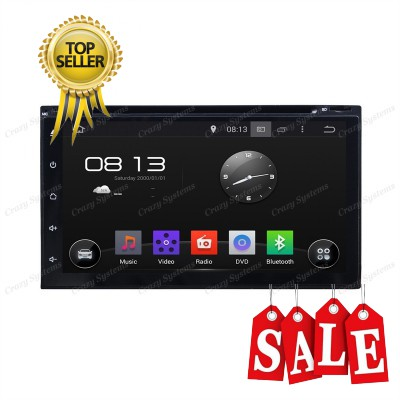 "Universal 6.95"" Android 5.1 Radio - GPS,MirrorLink"