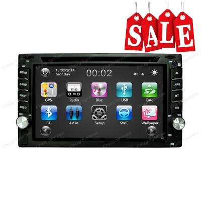 "6.2"" - DrivePro DPR0353 USB,AUX,DVD,GPS,BT, FM/AM STEREO"