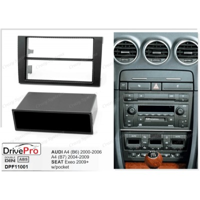 AUDI A4 (B6) 2000-2006 / A4 (B7) 2004-2009 / SEAT EXEO 2009-2013 - Fitting Kit