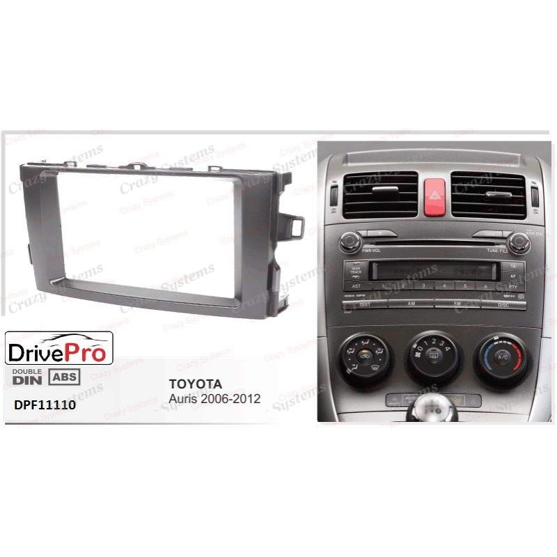 TOYOTA Auris/Corolla 2006-2012 - Fitting Kit