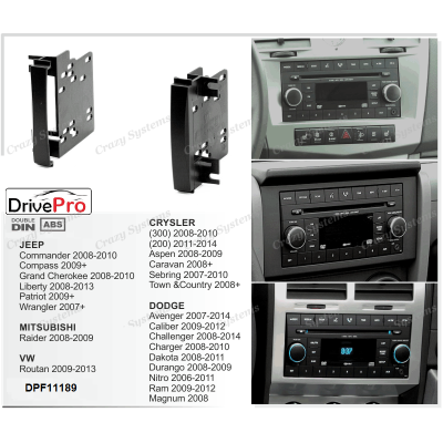 CRYSLER | DODGE | JEEP | MITSUBISHI | VW - Fitting Kit