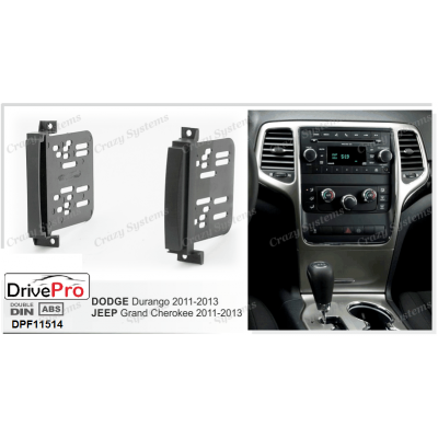 JEEP Grand Cherokee 2011-2013 / DODGE Durango 2011-2013 - Fitting Kit