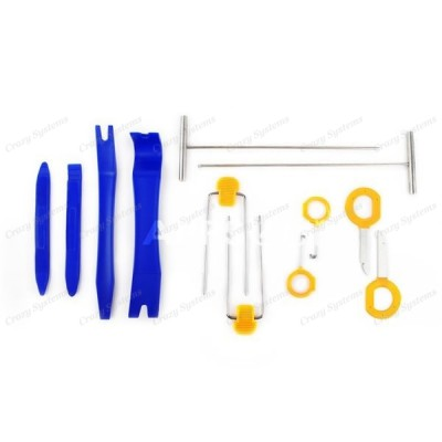 Professional 12pc Stereo/Trim Removal Kit - STRONG Plastic Tools