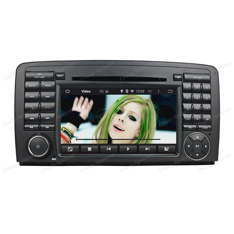 Mercedes Benz R Class (W251) Android 5.1 OEM Radio (2006-2012)
