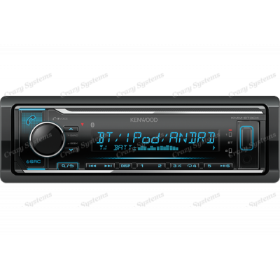 KENWOOD KMM-BT304 BLUETOOTH / IPOD/ USB / ANDROID 3 Pre Outs