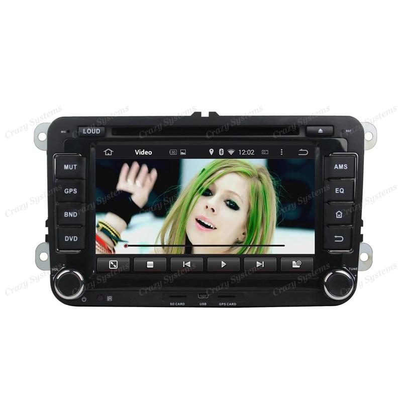 "VW 7"" Android 5.1 Radio - GPS,BT, WIFI, MirrorLink,3G *DrivePro*"
