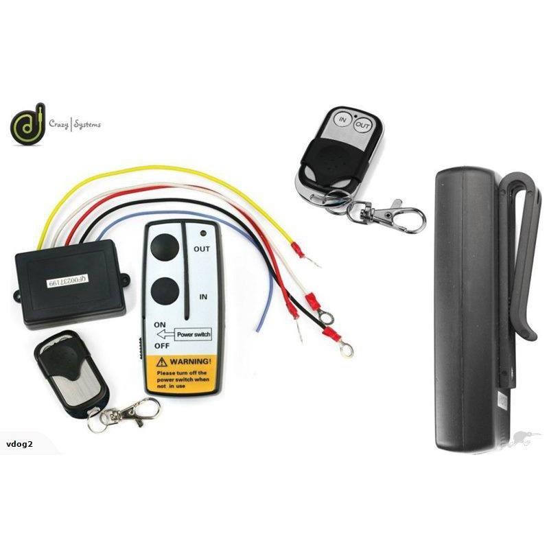 24V Wireless Winch Remote & FREE Extra Remote
