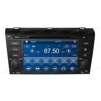Mazda 3 / Axela Win6.0 OEM Radio (2003-2008) **HD Capacitive Screen GPS BT DVD**
