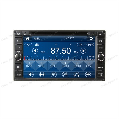 "Toyota Universal 6.95"" Win6.0 OEM Radio(200x100mm) *Capacitive Screen