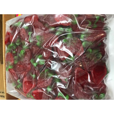 Maycey's Sour Strawberries- Gummy Candy *SHL Candies* (apx 1.7kg bag|apx 265pcs)