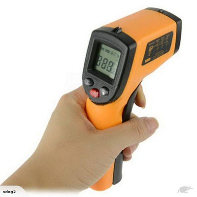 Digital LCD Infrared Thermometer Gun -50C to 330C