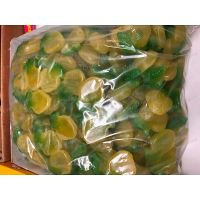 Maycey's Sour Apples - Gummy Candy *SHL Candies* (apx 1.7kg bag   apx 265pcs)
