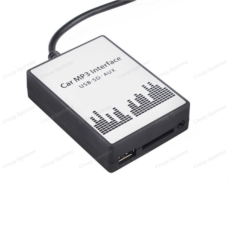 Toyota Small Plug Usb Aux Sd Integration Car Kit