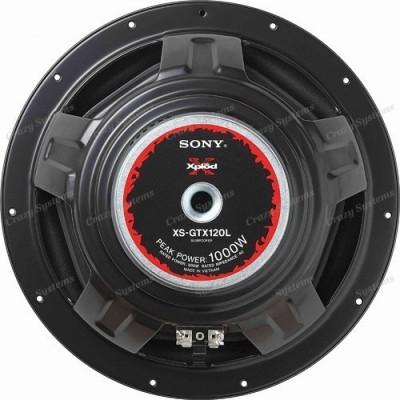 """Sony XS-GTX120L 12"""" Single 4 ohm Xplod Series"""