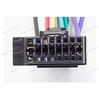 SONY / JVC (select models) - ISO Wiring Loom Harness