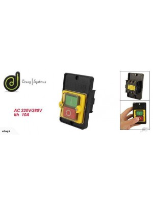 Commercial On-Off Push Button Safety Switch *Waterproof*