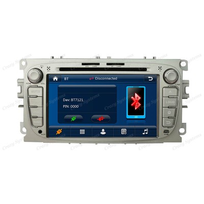 Ford Focus Win6.0 OEM Radio (2007-2010) **HD Capacitive Screen|GPS|BT|DVD**