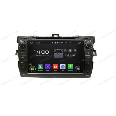 Toyota Corolla Android 5.1 OEM Radio *MirrorLink, WIFI, GPS* (2006-2011)