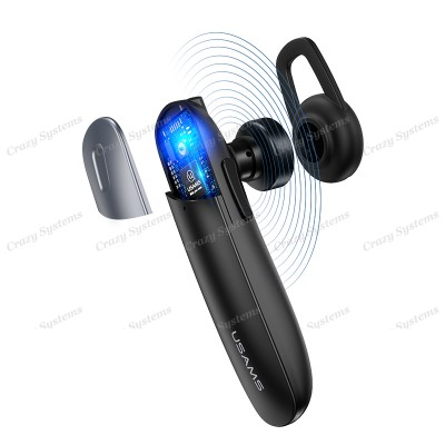 USAMS US-LD001 Monaural Wireless Bluetooth Headphone/Earpiece with Microphone