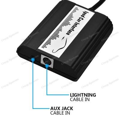 DrivePro Nissan MFI Lightning iPod/iPhone Integration Kit