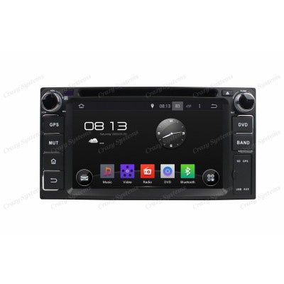 "Toyota 6.2"" Android 5.1 Radio - GPS,MirrorLink,3G"