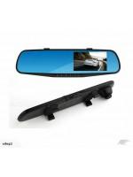 "4.3"" 1080P RearView Mirror + Front Camera + Rear Camera + inbuilt DVR recorder"