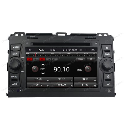 Toyota Prado Android 5.1 OEM Radio *MirrorLink, WIFI, GPS* (2006-2010)