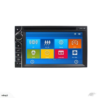 "DrivePro - Universal 6.5"" Wince CE 6.0 Radio - GPS,DVD, BT"