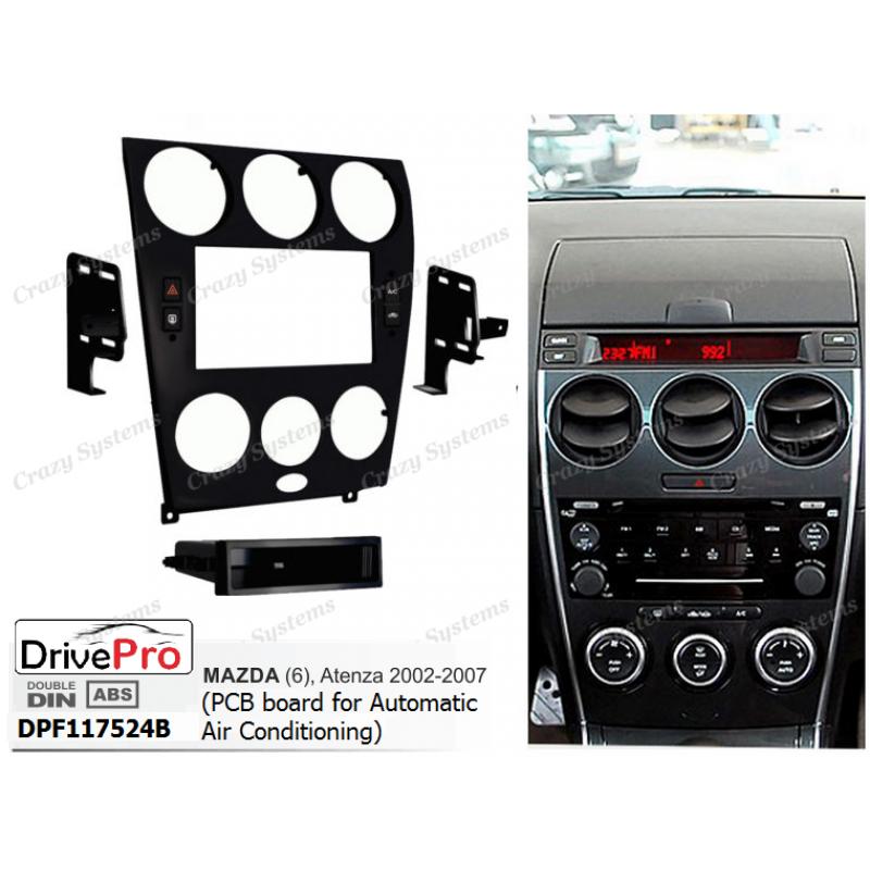 MAZDA 6, Atenza 02-07 (Retains Auto Aircon & Red LCD
