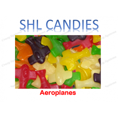 Pascall's Aeroplanes *SHL Candies* - (2kg bag)
