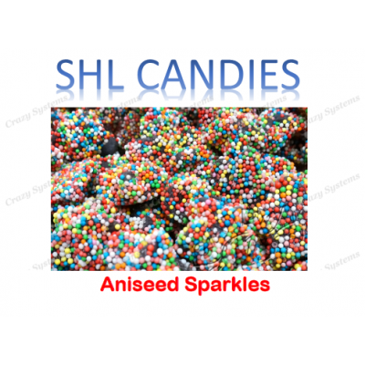 Aniseed Sparkles Candy *SHL Candies* - (2kg bag | apx 276pcs)