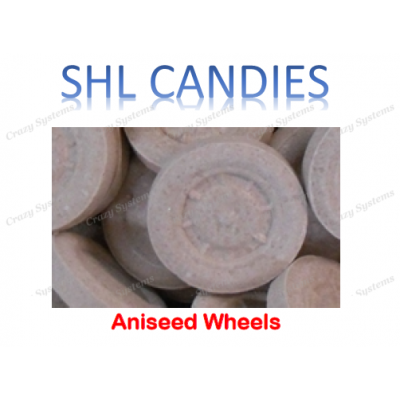 Aniseed Wheels Candy *SHL Candies* - (2kg bag)